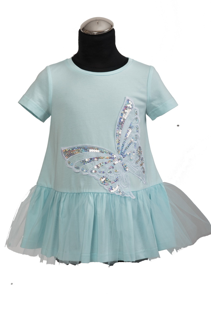 Daga DAGA Mint Green Butterfly Dress 8228 S21