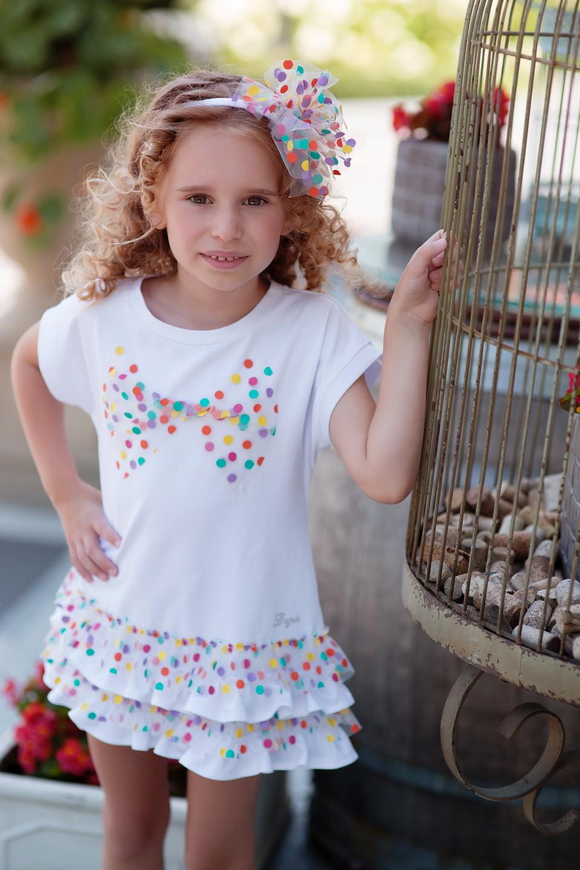 Daga Daga Spot Frill Dress 8255 S21
