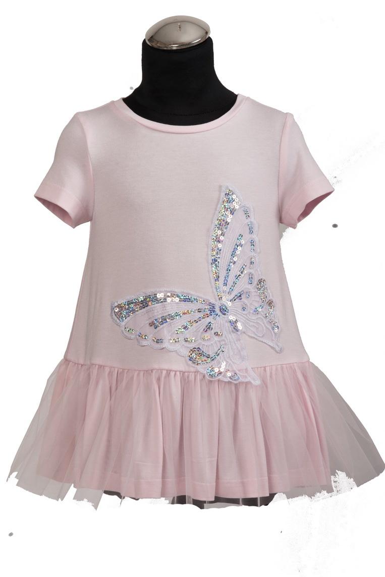 Daga DAGA Pink Butterfly Dress 8383 S21