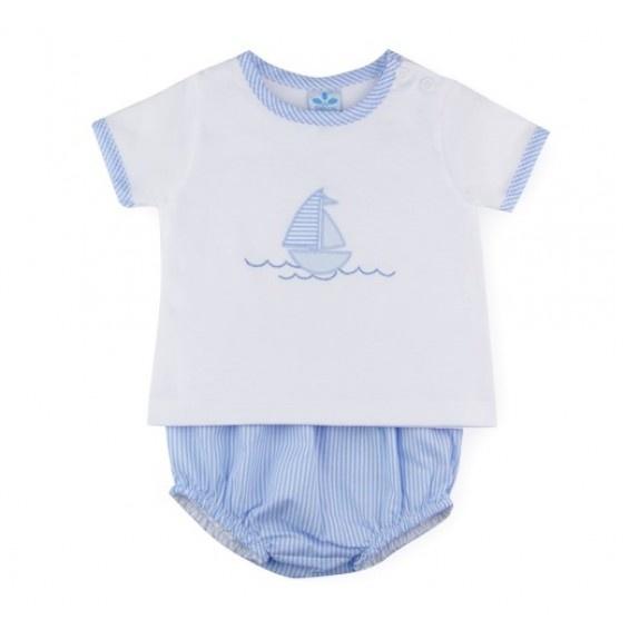Sardon Sardon Boys Boat Pant Set 526 S21