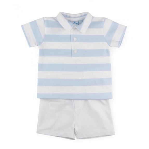 Sardon Sardon Boys Stripe Short Set 503 S21