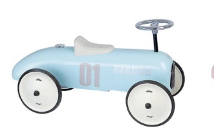 Vilac Pale Blue Vintage Car
