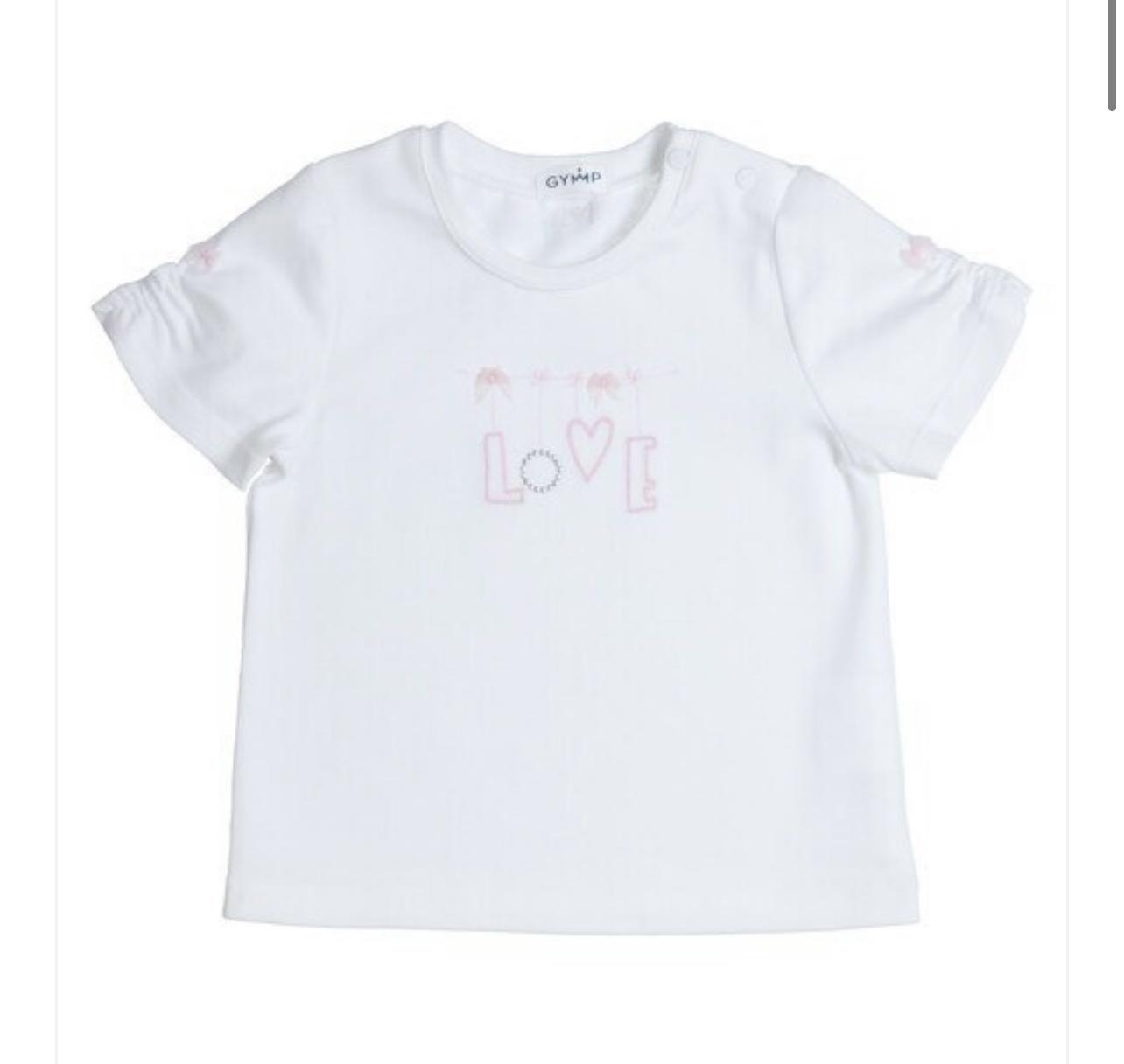 Gymp Gymp 1099  Love T-shirt