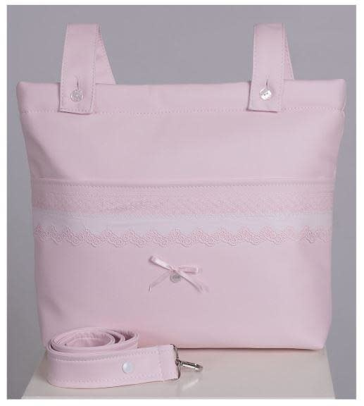 ACH Ach Leather Changing Bag 770 Pink