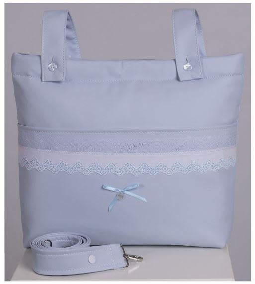 ACH Ach Leather Changing Bag 770 Blue