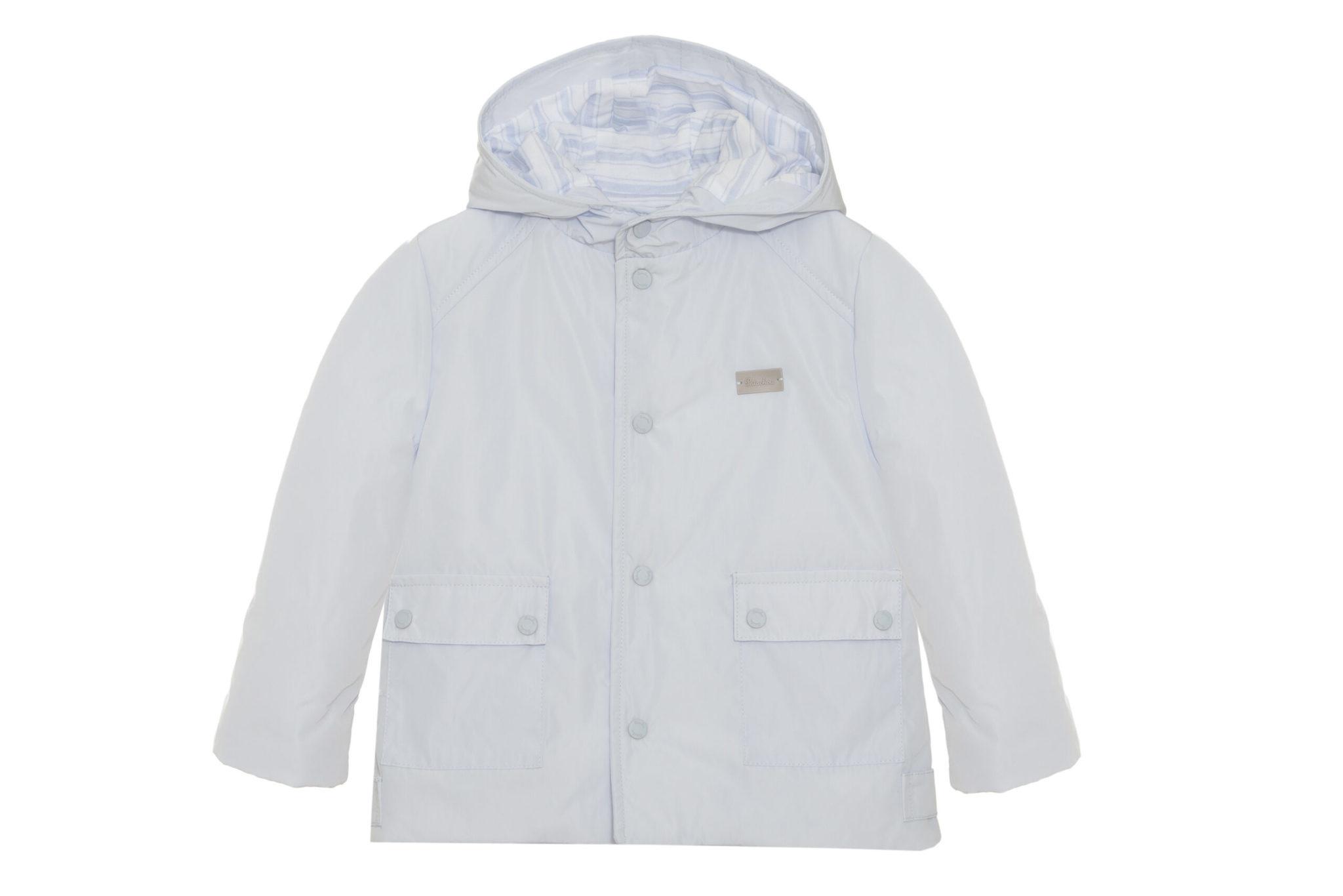 Patachou Patachou Light Blue Rain Coat 3330 S21