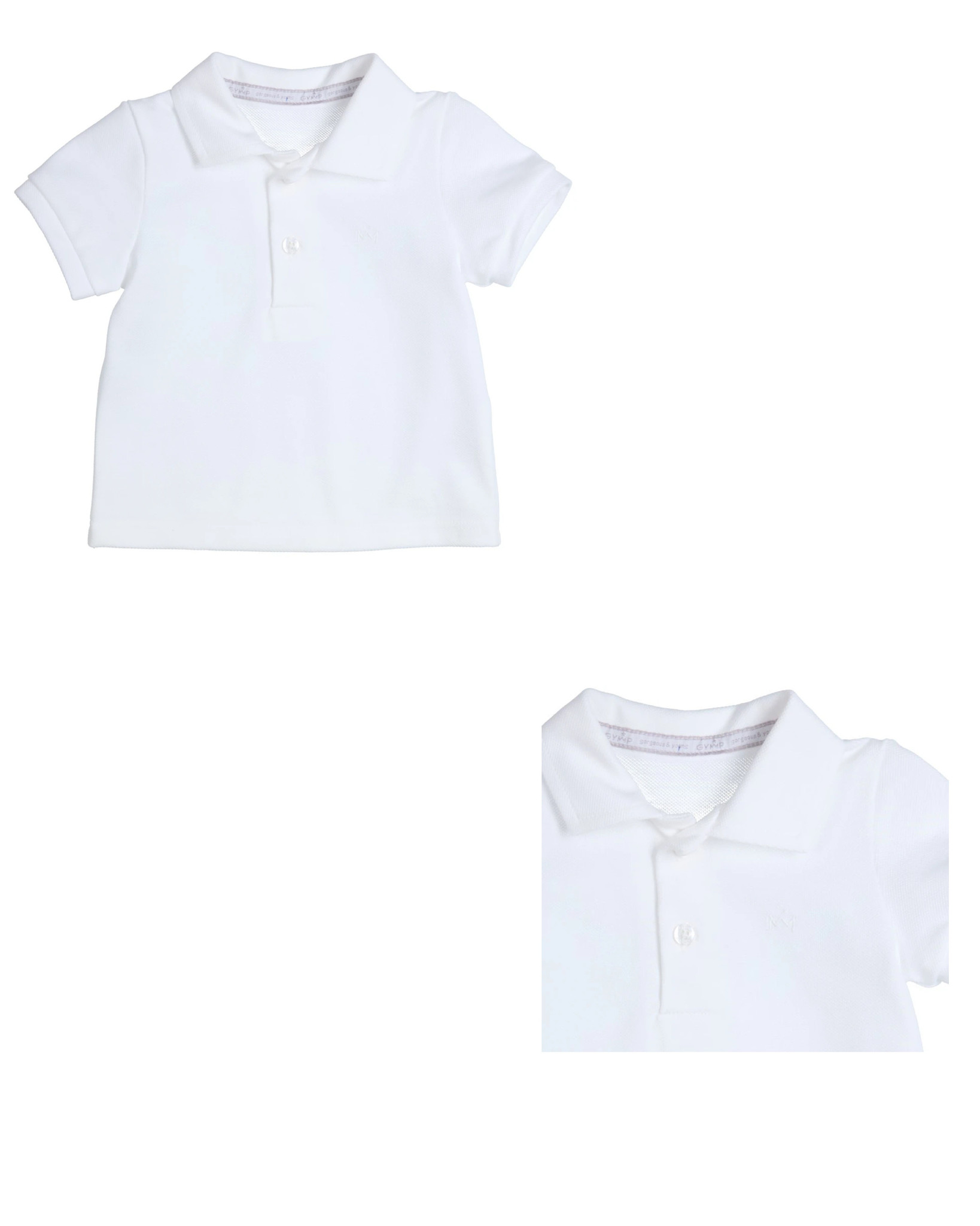 Gymp Gymp White Polo Shirt 1105 S21