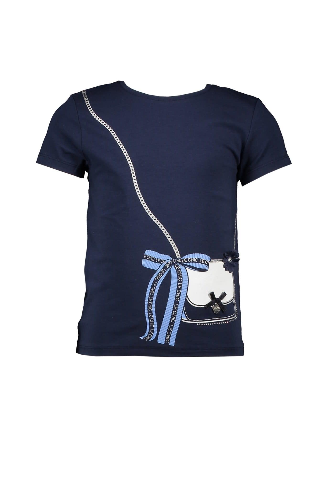 Le Chic Little Bag & Bow T-Shirt S21