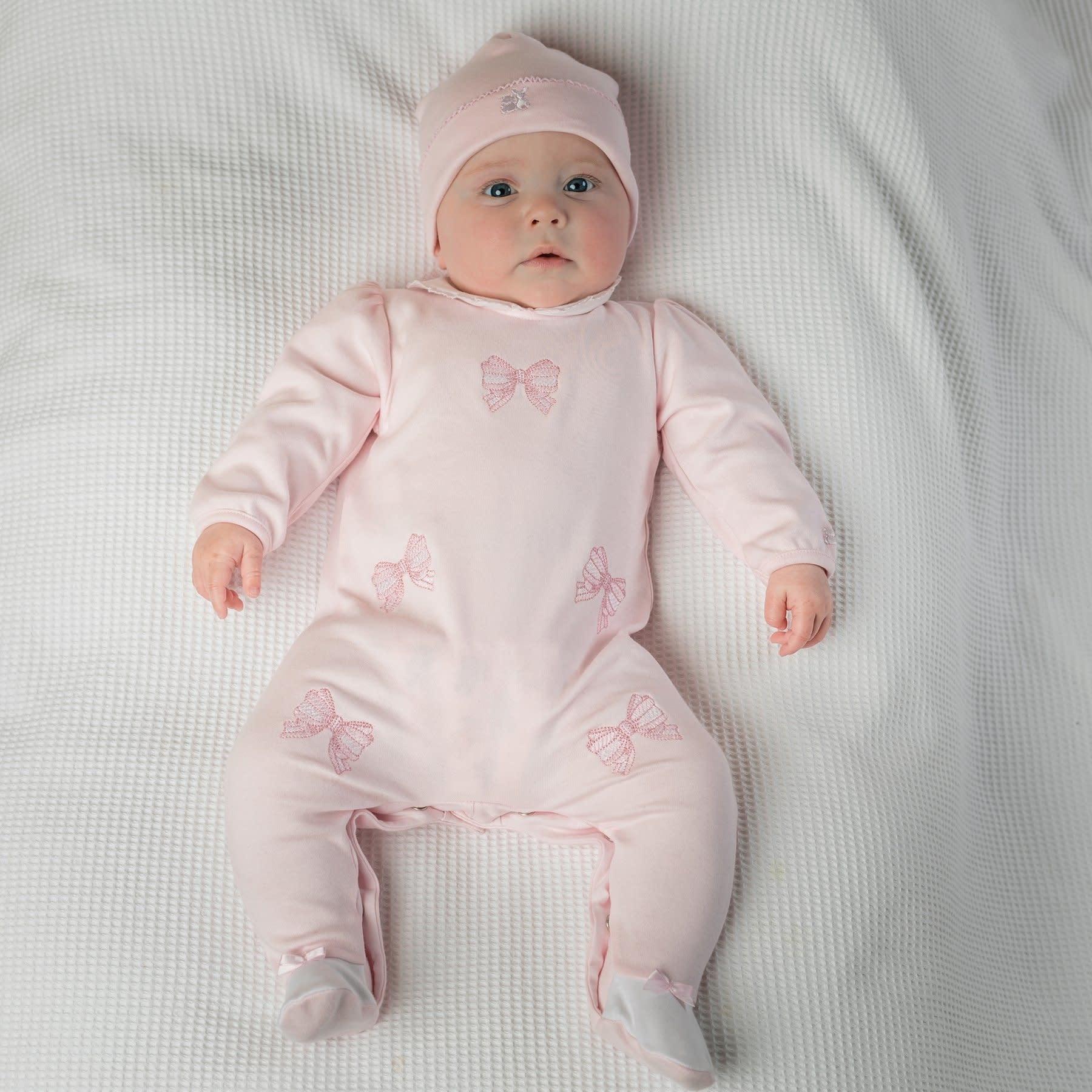 Emile et Rose Emile et Rose Winter Baby Girls Babygrow & Hat S21