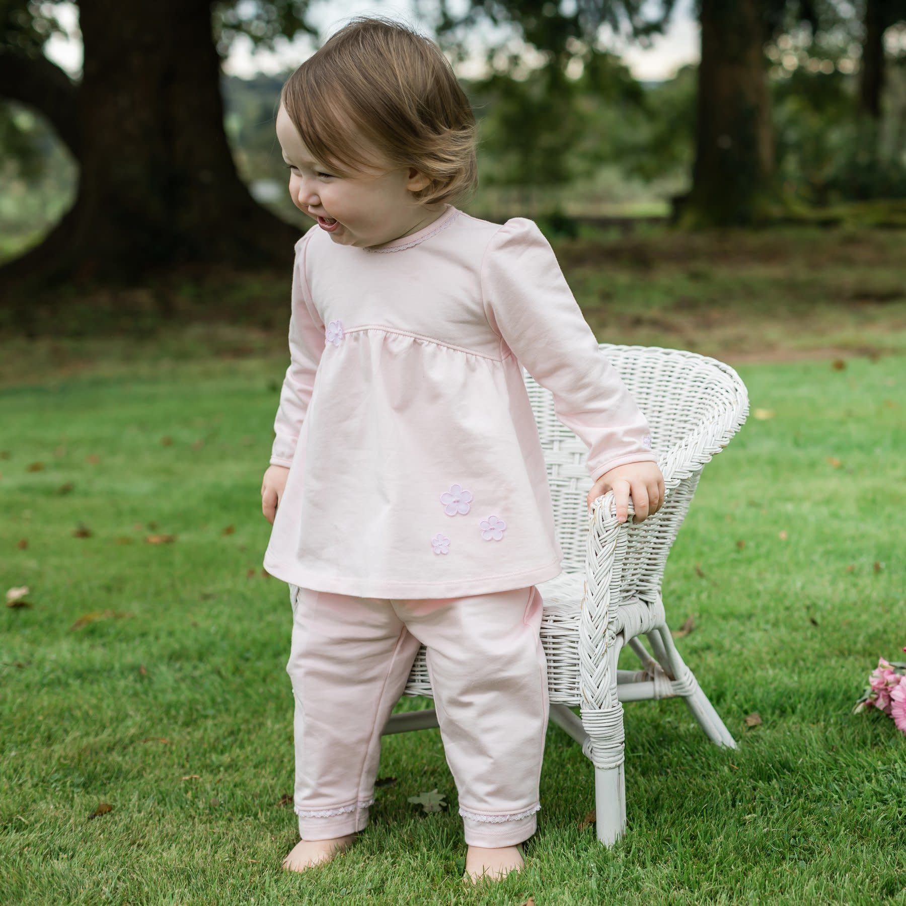 Emile et Rose Emile Et Rose Winsley Baby Top & Trouser Set S21