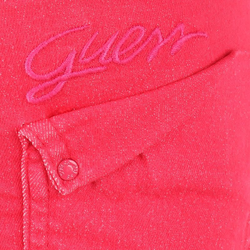 Guess GUESS Girls Hot Pink Denim Shorts S21