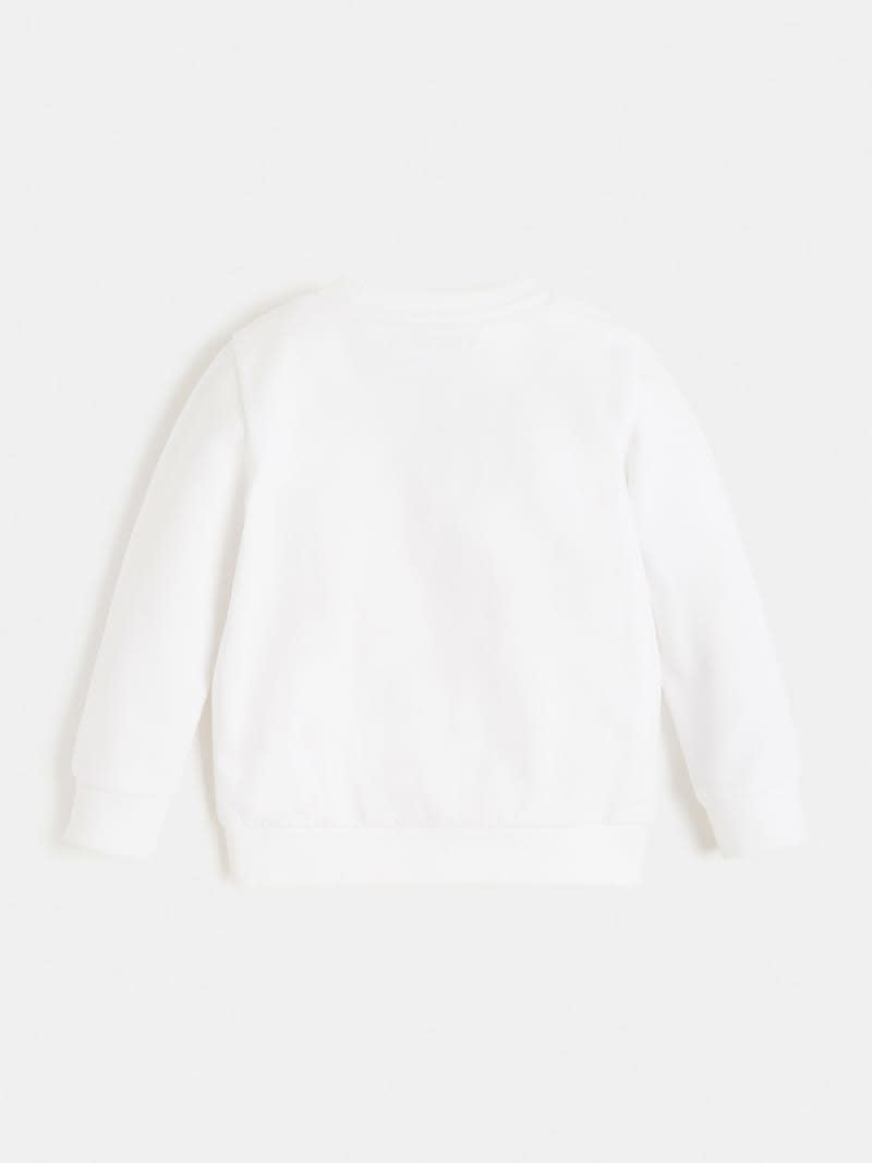 Guess Guess White Triangle Logo Jumper S21