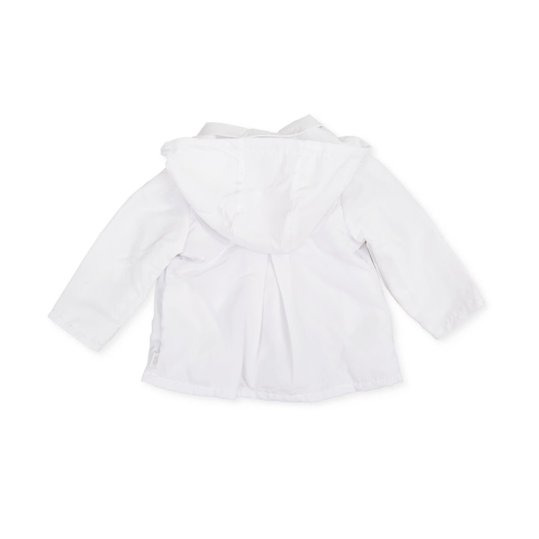 Tutto Piccolo TUTTO PICCOLO WHITE GIRLS PARKA 1617SS21