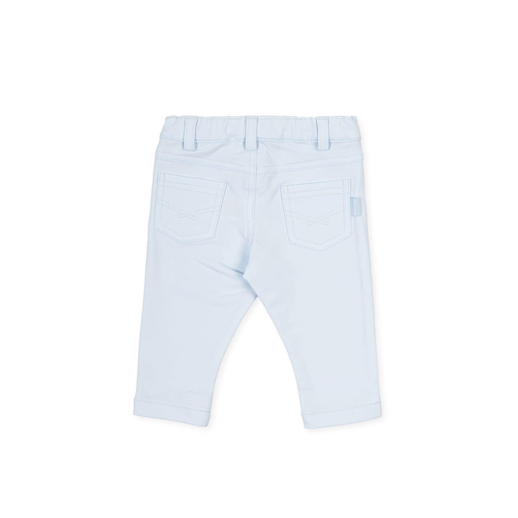 Tutto Piccolo Tutto Piccolo Sky Blue Trouser Set 1711S21