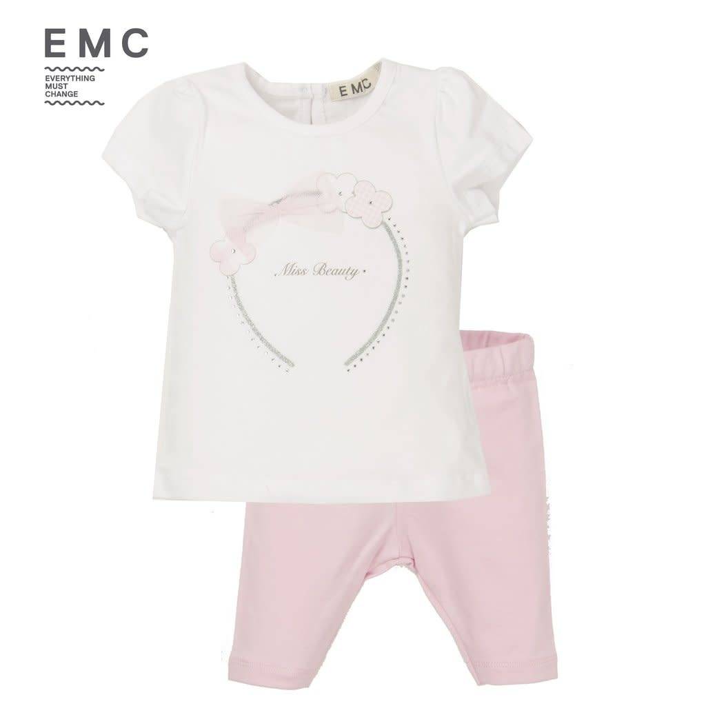 EMC Miss Beauty Legging Set 2796 S21 - 18 Months
