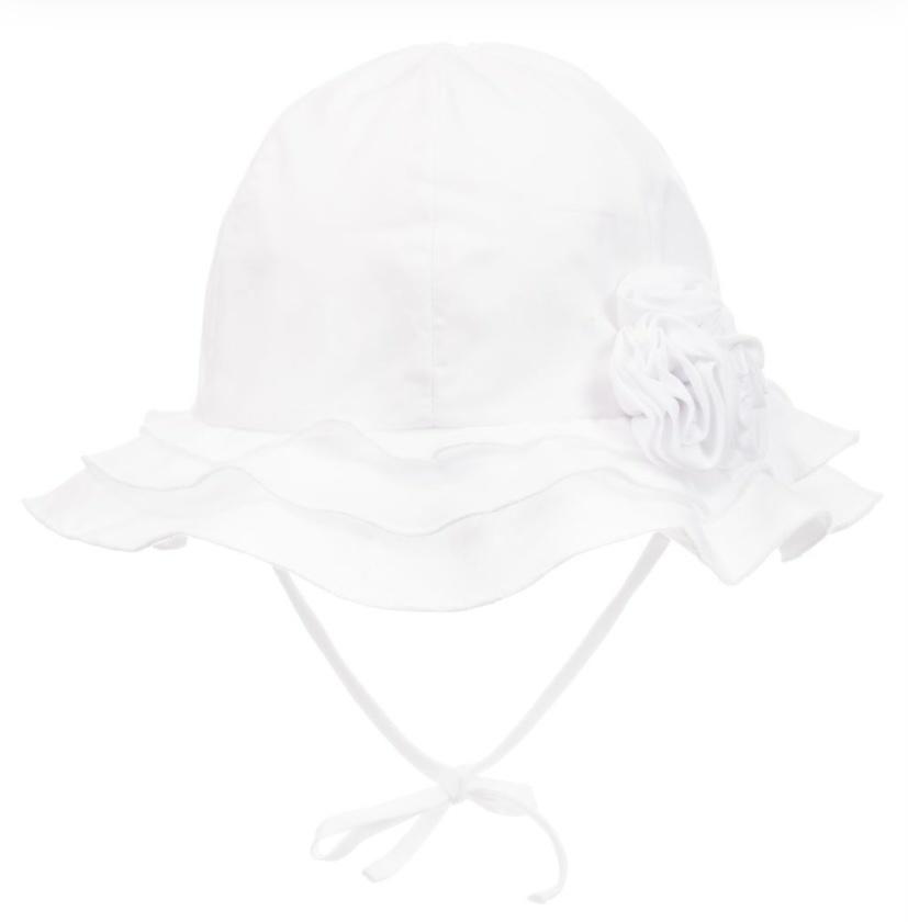Sarah Louise Sarah Louise White Sun Hat