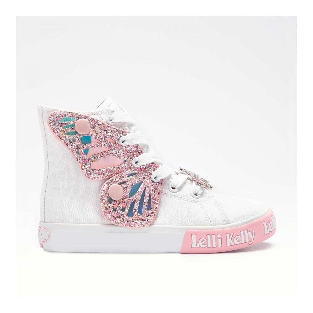 LELLI KELLY Unicorn Wing Hi-Top Boots 1330