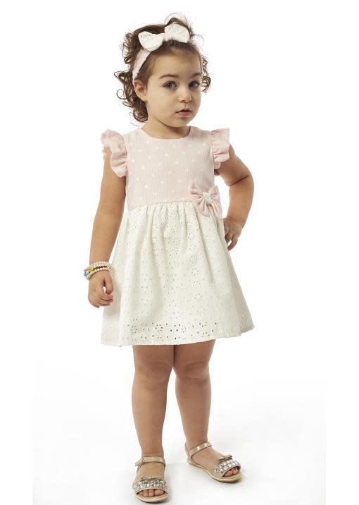 Ebita EBITA BOW FLORAL DRESS 214533