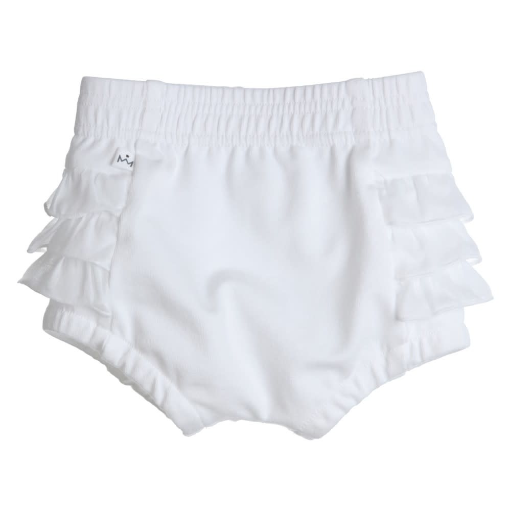 Gymp GYMP - WHITE FRILL BLOOMER - 1269 S21