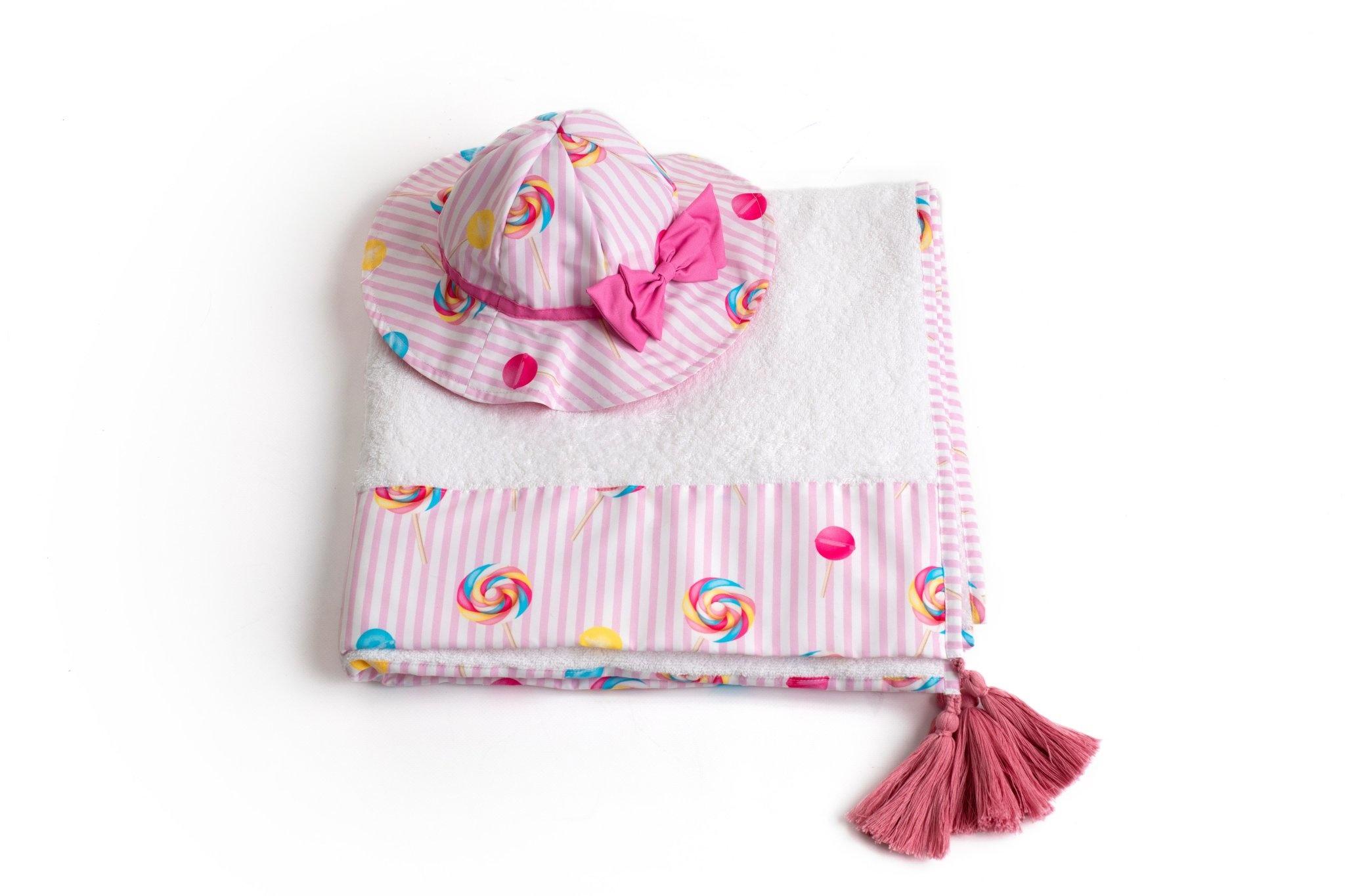 Meia Pata Meia Pata Girls Lollipop Sun Hat S21