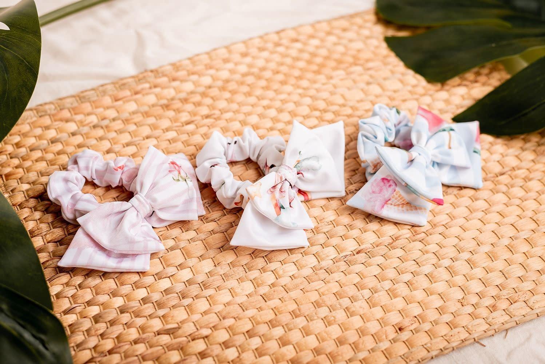 Meia Pata Meia Pata Beach White Unicorn Hair Scrunchie S21