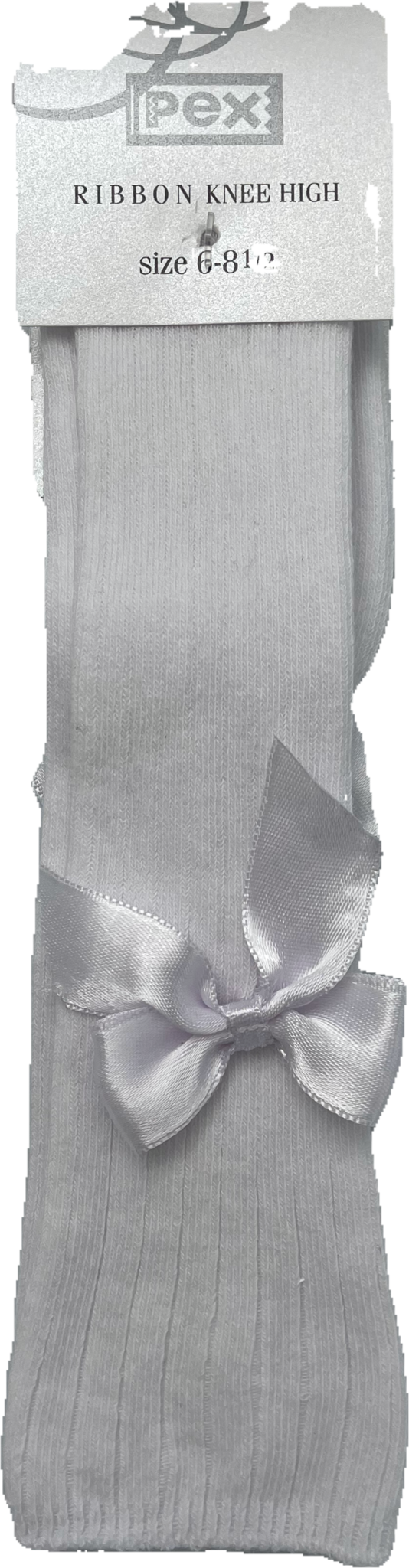 Pex Pex Carmen Knee High Socks White