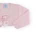 Sardon Sardon 19VE-180 Pink Cardigan With Bow