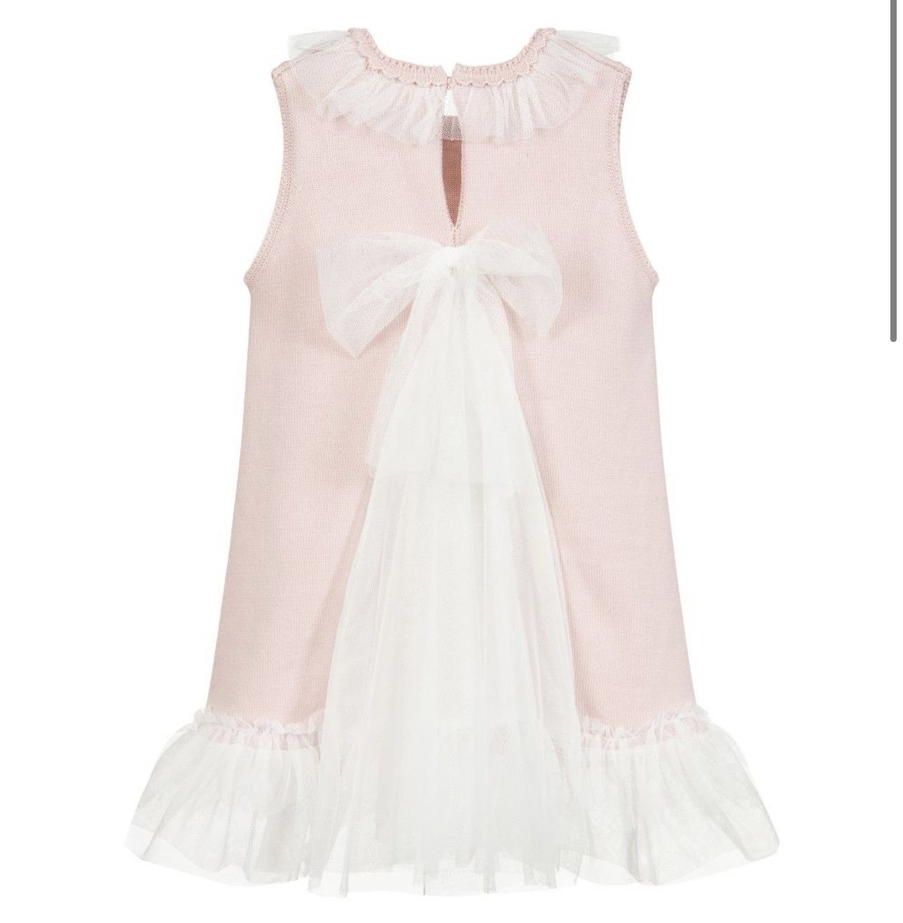 Artesania Granlei Artesania Granlei Dusky Pink Knitted Dress