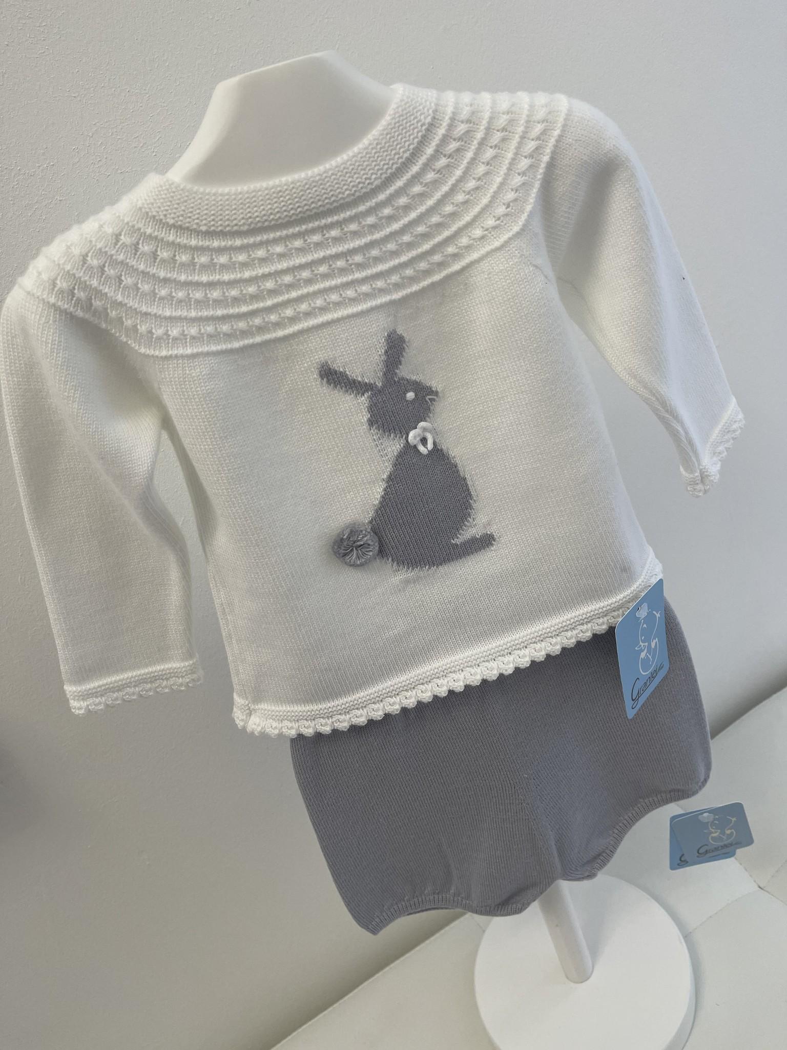 Artesania Granlei Artesania Granlei Grey Rabbit Pant Set S21