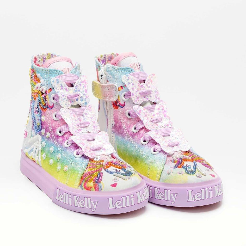 Lelli Kelly Lelli Kelly SS21 Unicorn Mid Canvas Lilac Fantasy