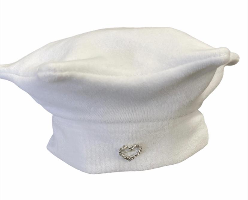 Cutiekins Cutiekins Star Hat White