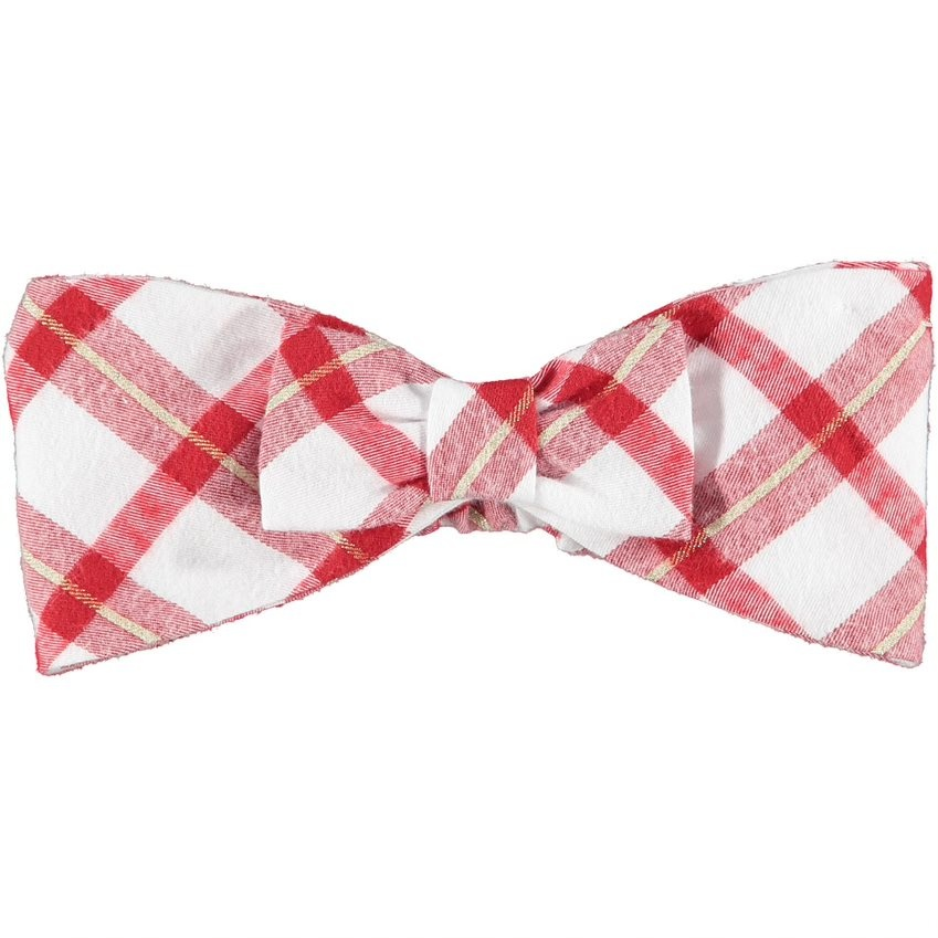 Little A Little A AW21 Brittany Check Bow Headband