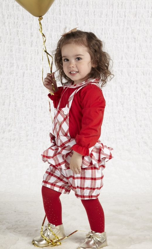 Little A Little A AW21 Betty Dungaree Set