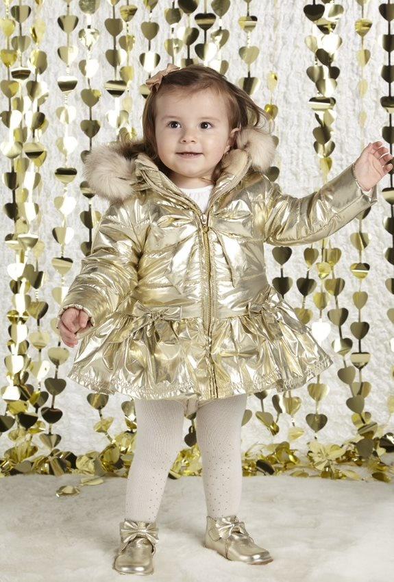 Little A Little A AW21 Barney Fur Trim Jacket
