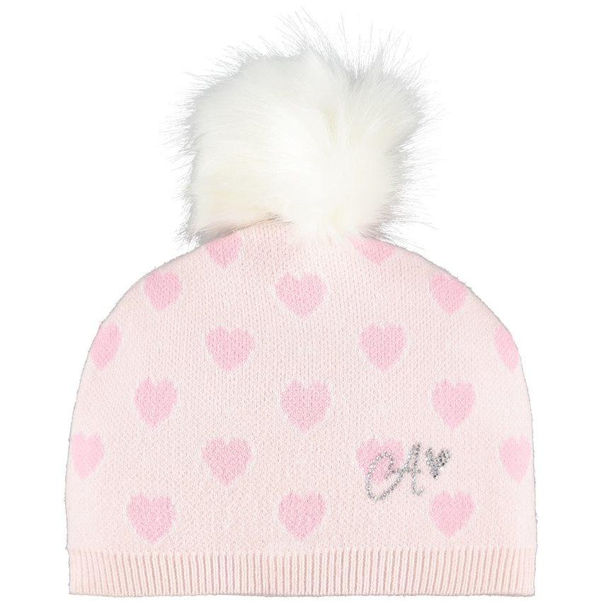 Little A Little A AW21 Abby Heart Knitted Hat