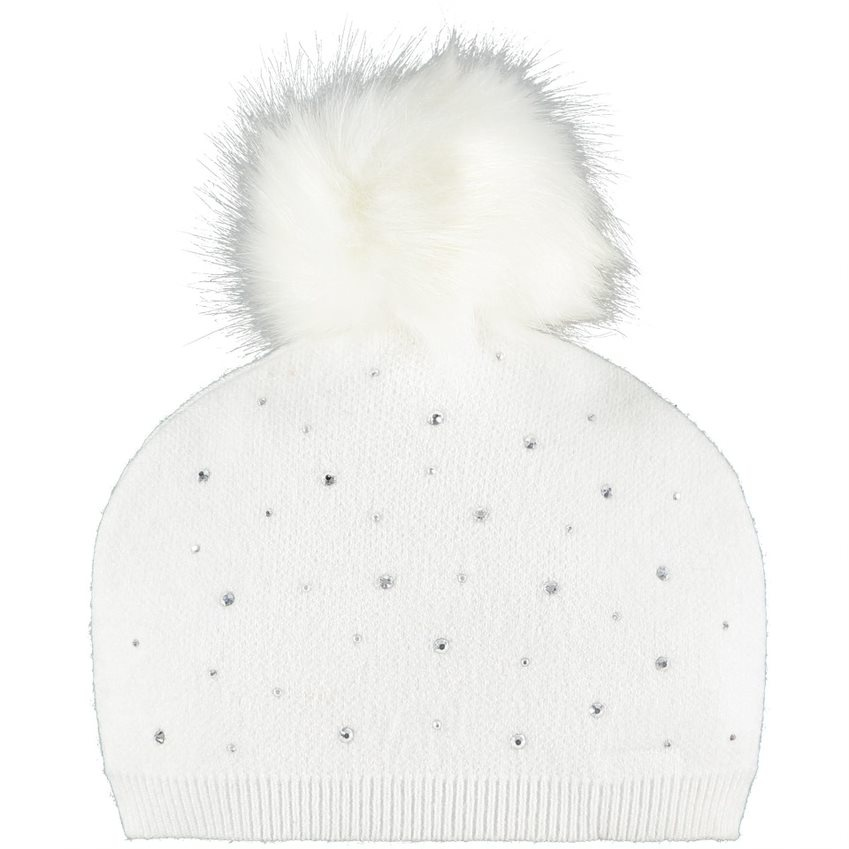 Little A Little A AW21 Angel Pom Pom Knitted Hat
