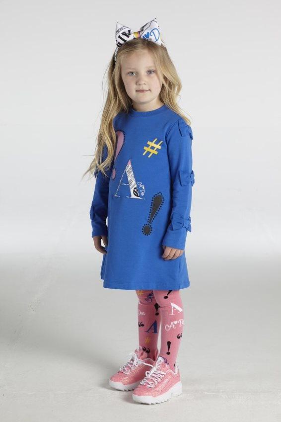 A Dee ADee Sage Symbols Dress