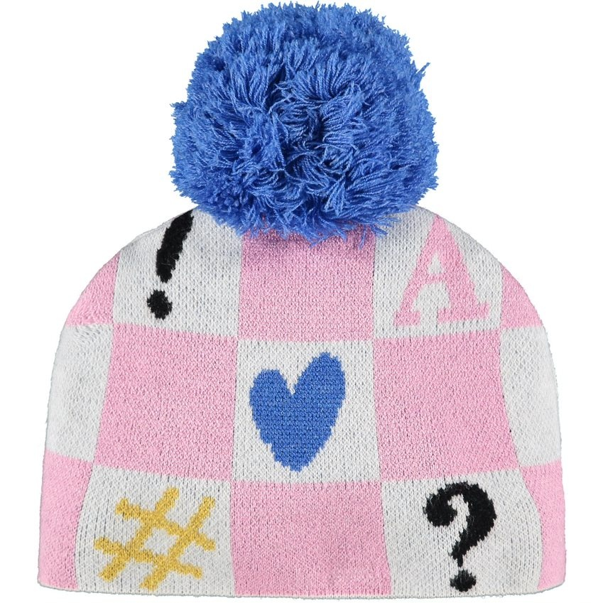 A Dee ADee Shirley Symbol Knitted Hat