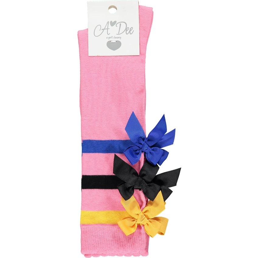 A Dee ADee Stacey Bow Knee High Sock