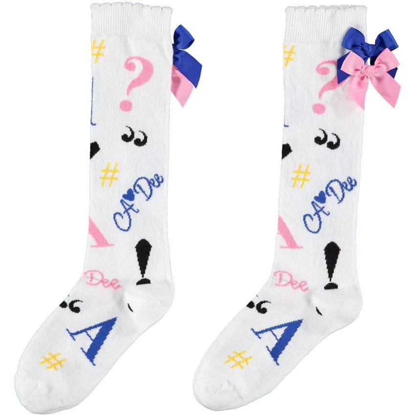 A Dee ADee Sharon Symbols Knee High Sock