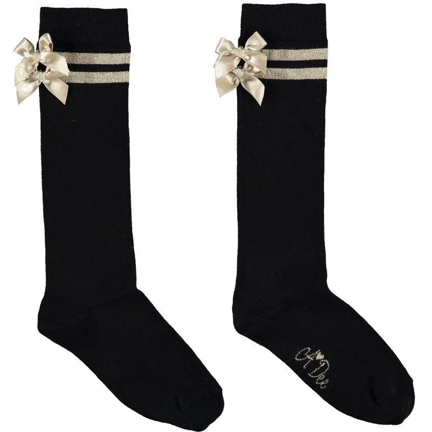 A Dee ADee Tayla Ribbon Knee High Sock