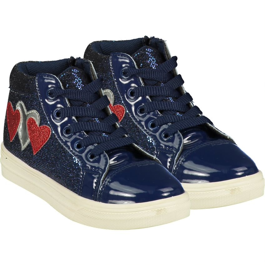 A Dee ADee Hearts High Top Trainer