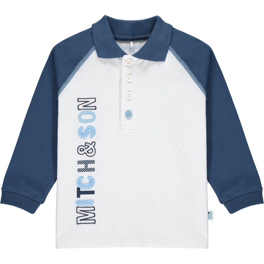 Mitch and Son Mitch & Son AW21 Park Long Sleeve Polo Top