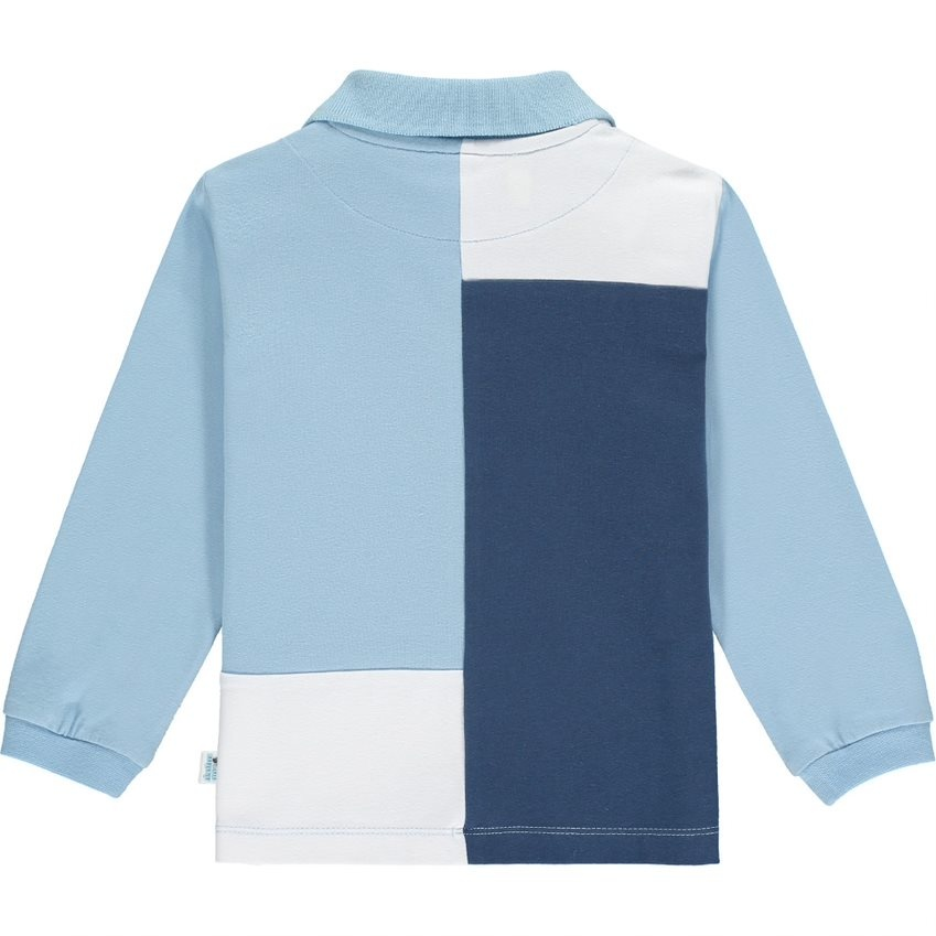 Mitch and Son Mitch & Son AW21 Pitt Long Sleeve Polo Top