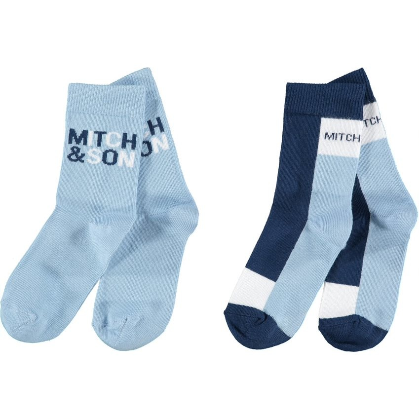 Mitch and Son Mitch & Son AW21 Parsonage 2 Pack Socks