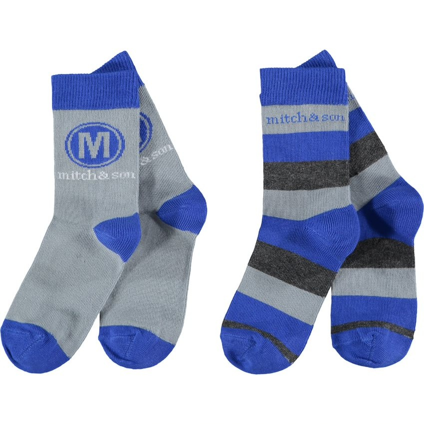 Mitch and Son Mitch & Son AW21 Stafford 2 Pack Socks
