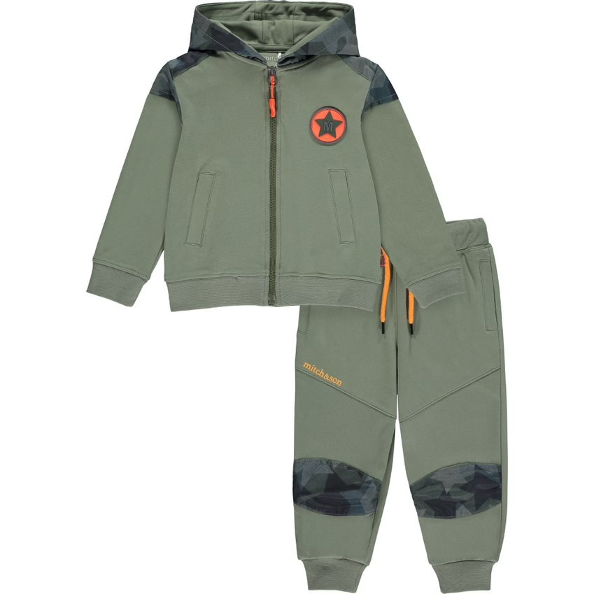 Mitch and Son Mitch & Son AW21 Mair Zipper Tracksuit