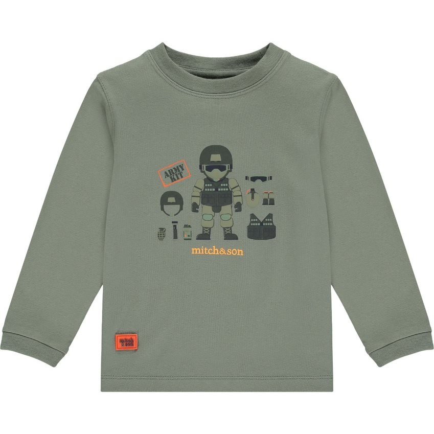 Mitch and Son Mitch & Son AW21 Montieth Long Sleeve Top
