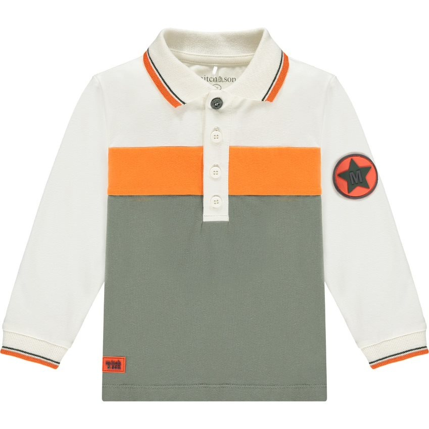 Mitch and Son Mitch & Son AW21 Moncur Long Sleeve Polo Shirt