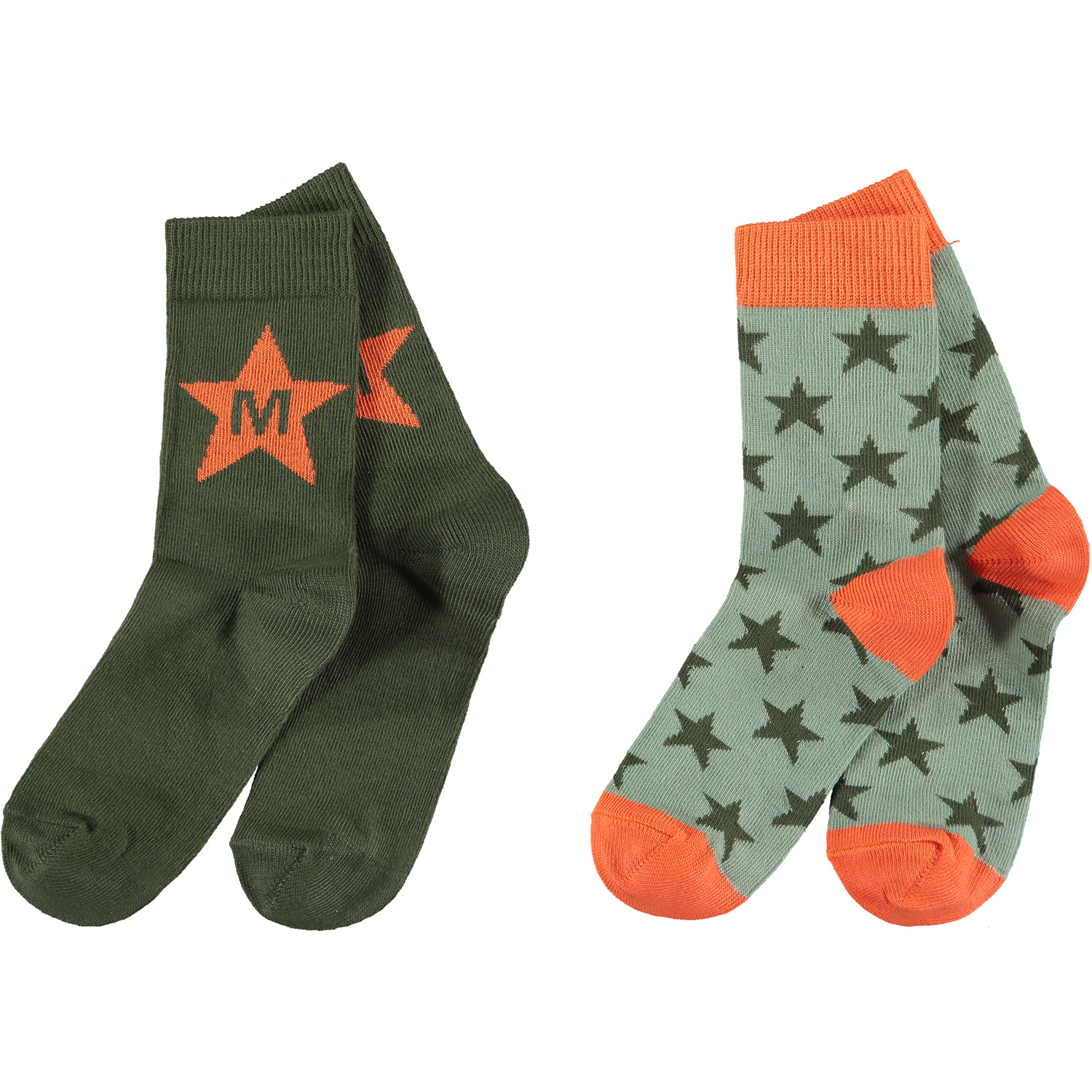 Mitch and Son Mitch & Son AW21 Milnpark 2 Pack Socks